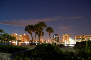 Downtown-Sarasota-Night